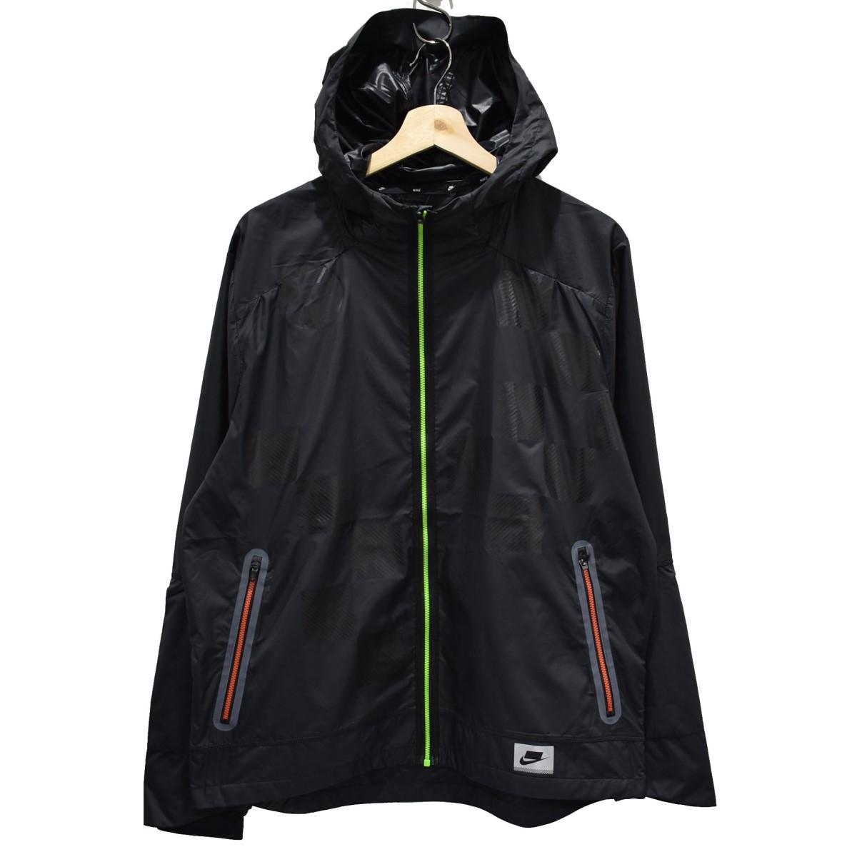 【中古】NIKE 19AW ワイルドラン シールドジャケット ブラック サイズ:L 【040520】(ナイキ)