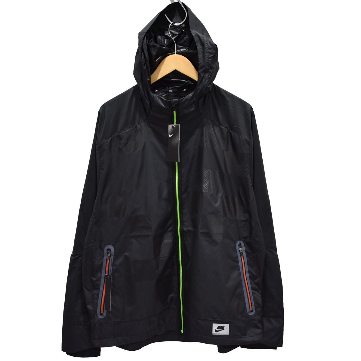 【中古】NIKE 19AW ワイルドランシールドジャケット ブラック サイズ:XL 【040520】(ナイキ)