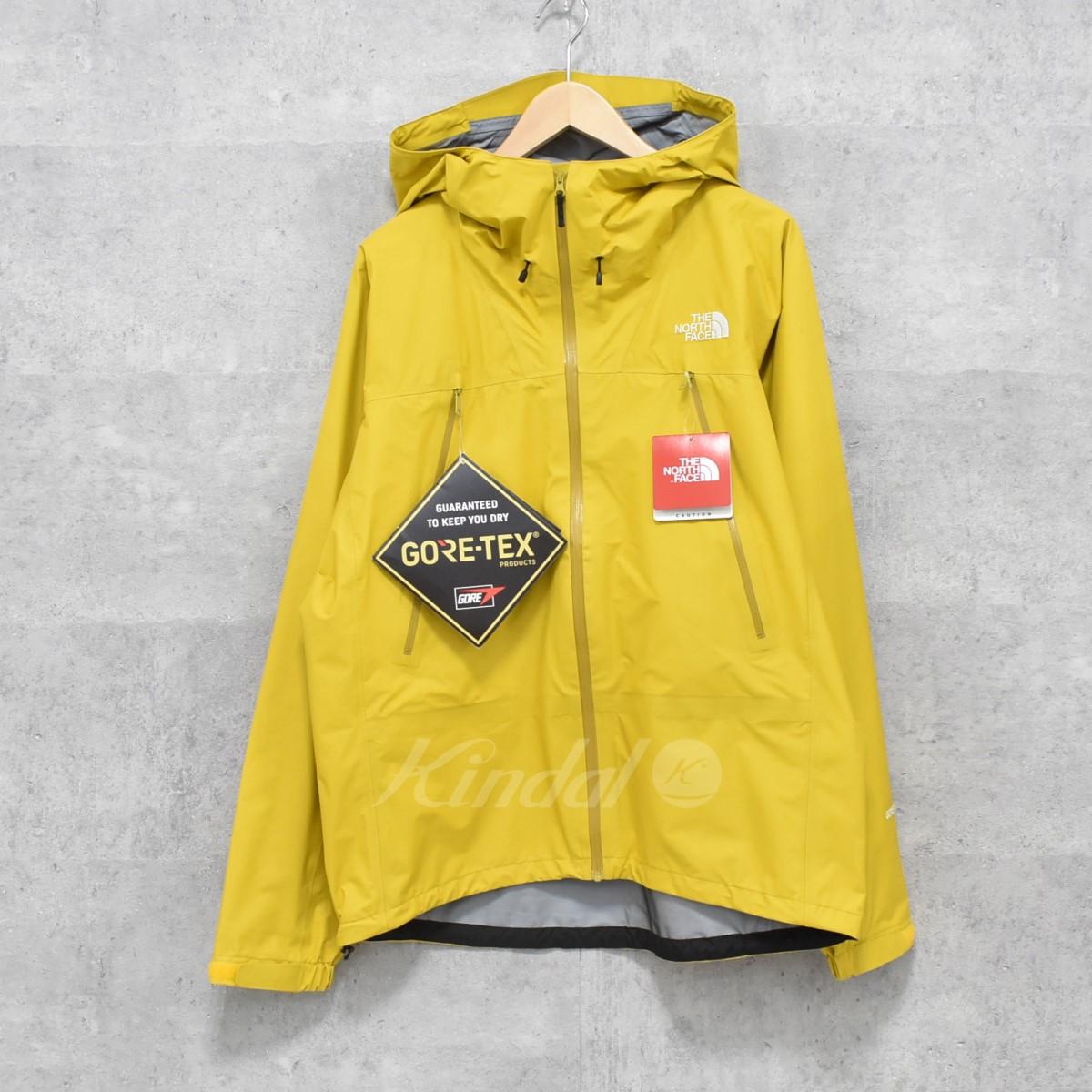 【中古】THE NORTH FACE NP11505 climb very light jacket マウンテンパーカー イエロー サイズ:L 【040520】(ザノースフェイス)