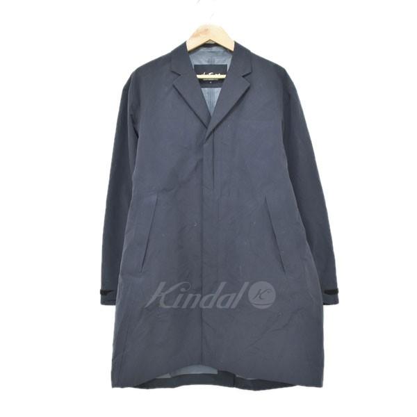 【中古】WILD THINGS 3LAYER OVER COAT コート ネイビー サイズ:S 【040520】(ワイルドシングス)