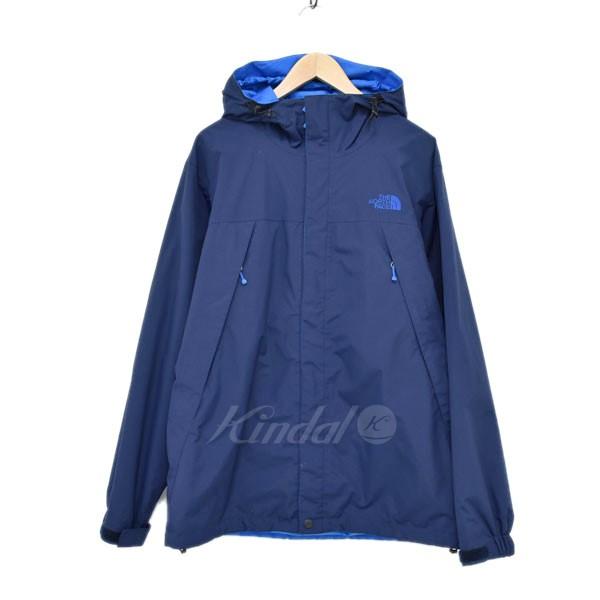 【中古】THE NORTH FACE NP61240 SCOOP JACKET ジャケット ネイビー×ブルー サイズ:L 【040520】(ザノースフェイス)