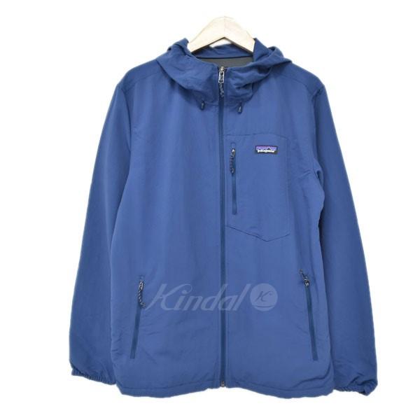 【中古】patagonia Tezzeron Jacket マウンテンパーカー ブルー サイズ:S 【040520】(パタゴニア)