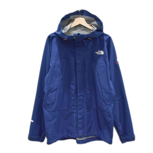 【中古】THE NORTH FACE マウンテンパーカー ALL MOUNTAIN JACKET ブルー サイズ:XL 【040520】(ザノースフェイス)
