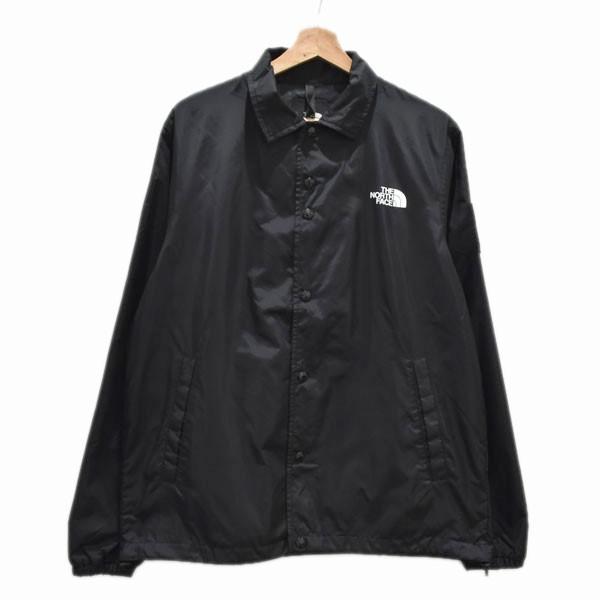 【中古】THE NORTH FACE The Coach Jacket NP22030 コーチジャケット ブラック サイズ:L 【040520】(ザノースフェイス)