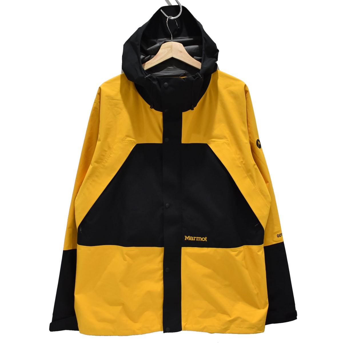 【中古】Marmot×VAINAL ARCHIVE CP-JKT マウンテンジャケット イエロー サイズ:M 【5月11日見直し】