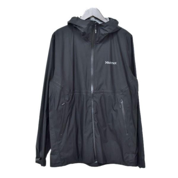 【中古】MarmotZERO Flow Jacket  ゼロフロージャケット TOMLJK02 ブラック サイズ:L 【5月11日見直し】