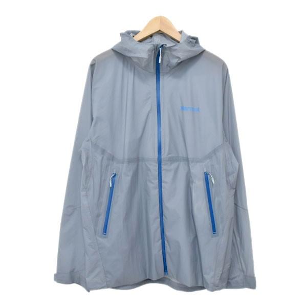 【中古】MarmotZERO Flow Jacket ゼロフロージャケット  TOMLJK02 グレー サイズ:L 【5月11日見直し】