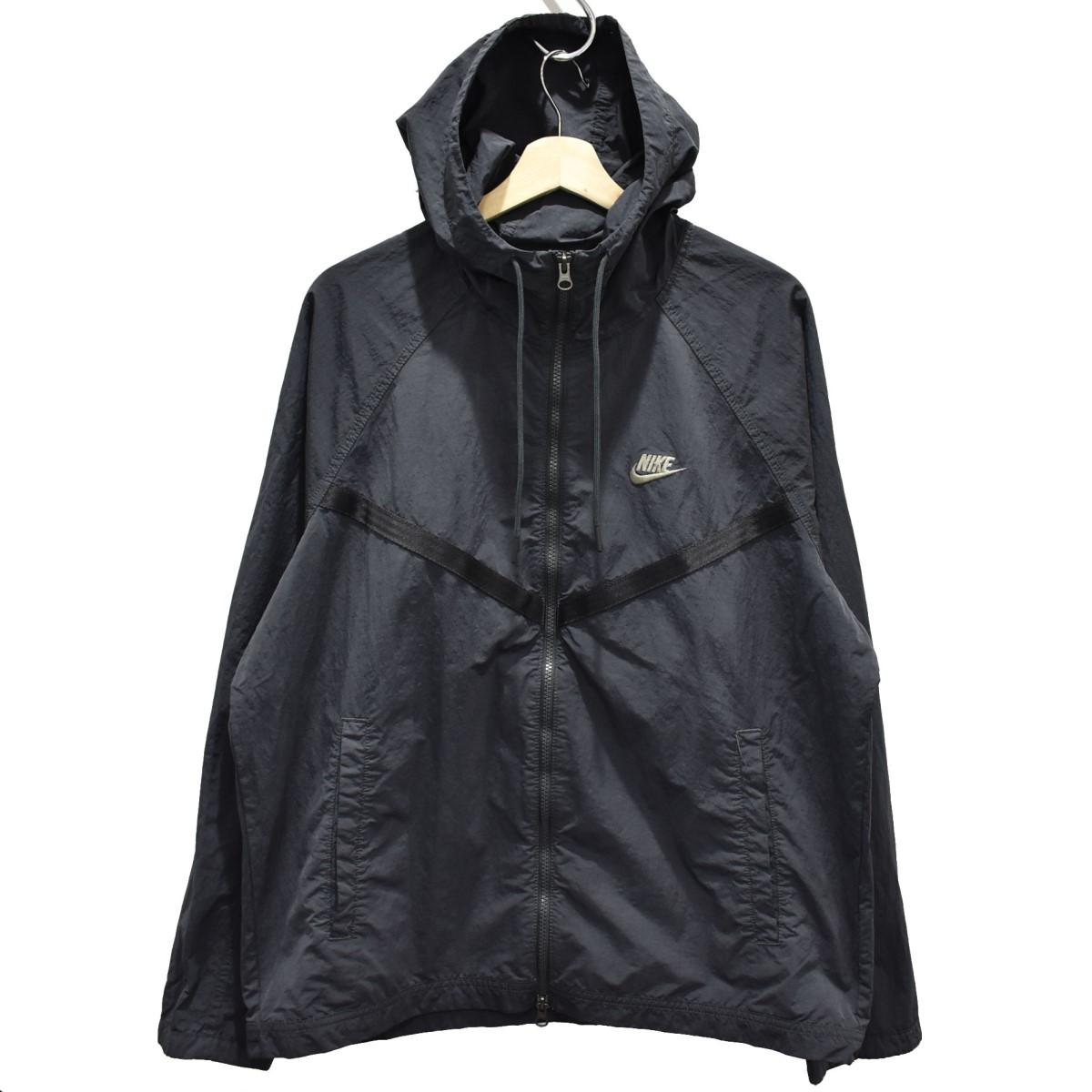 【中古】NIKE CJ4300-070 20SS ウインドランナージャケット ブラック サイズ:L 【040520】(ナイキ)