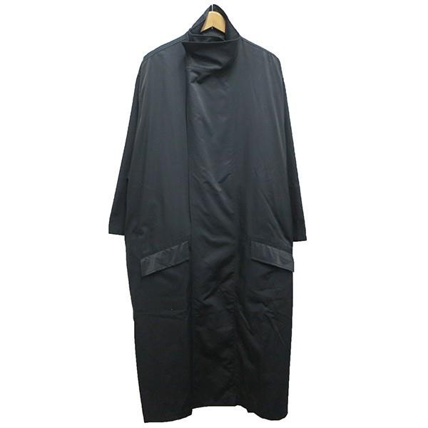 【中古】whowhat TIBET COAT WH-1702-T9 ブラック サイズ:M 【040520】(フーワット)