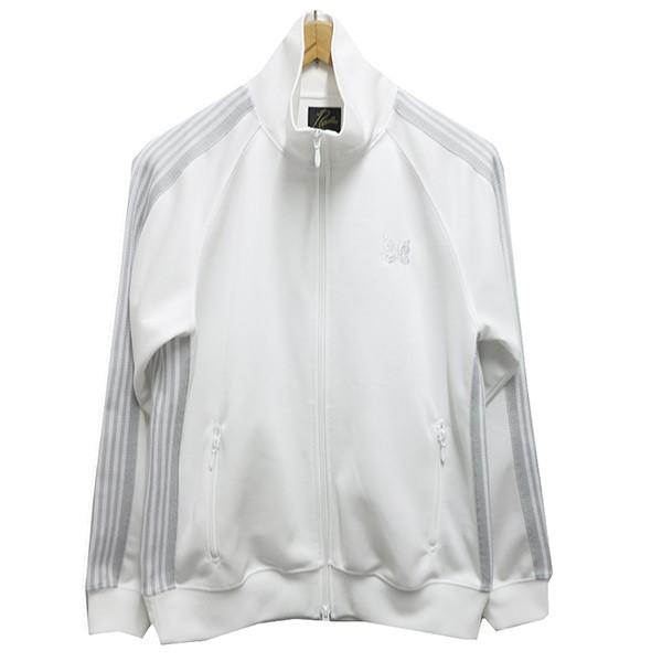 【中古】Needles 乱痴気25周年記念別注トラックジャケット ホワイト サイズ:S 【040520】(ニードルス)