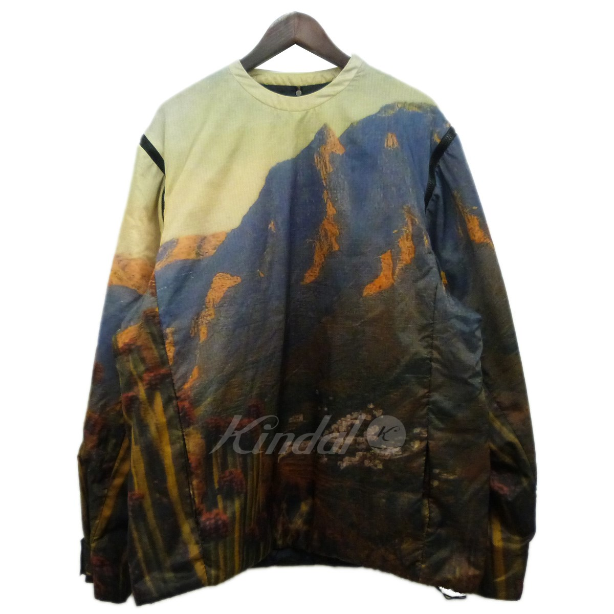 【中古】OAMC(OVER ALL MASTER CLOTH) 18AW転写プルオーバージャケット マルチカラー サイズ:S 【040520】(オーバーオールマスタークロス)