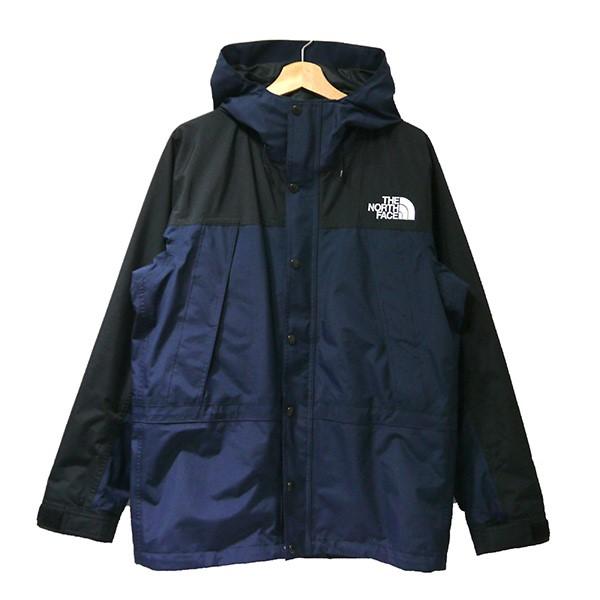【中古】THE NORTH FACE Mountain Light Jacket ゴアテックスマウンテンパーカー NP11834 ネイビー×ブラック サイズ:L 【040520】(ザノースフェイス)