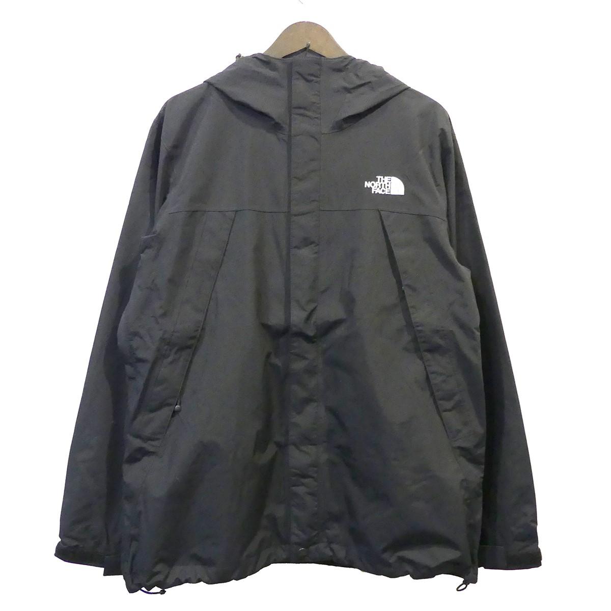 【中古】THE NORTH FACE Scoop Jacket マウンテンパーカー ブラック サイズ:M 【040520】(ザノースフェイス)