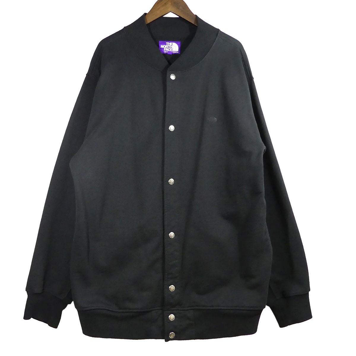 【中古】THE NORTHFACE PURPLELABEL Mountain Snap Cardigan ブラック サイズ:M 【040520】(ザノースフェイス パープルレーベル)