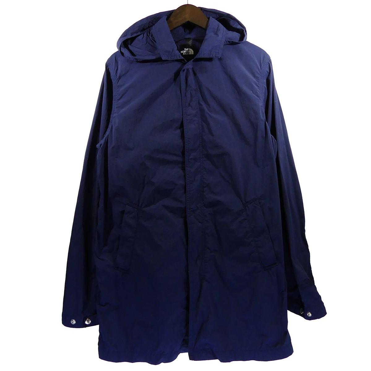 【中古】THE NORTH FACE Journeys Tech Indigo Coat ステンカラーコート インディゴ サイズ:M 【040520】(ザノースフェイス)