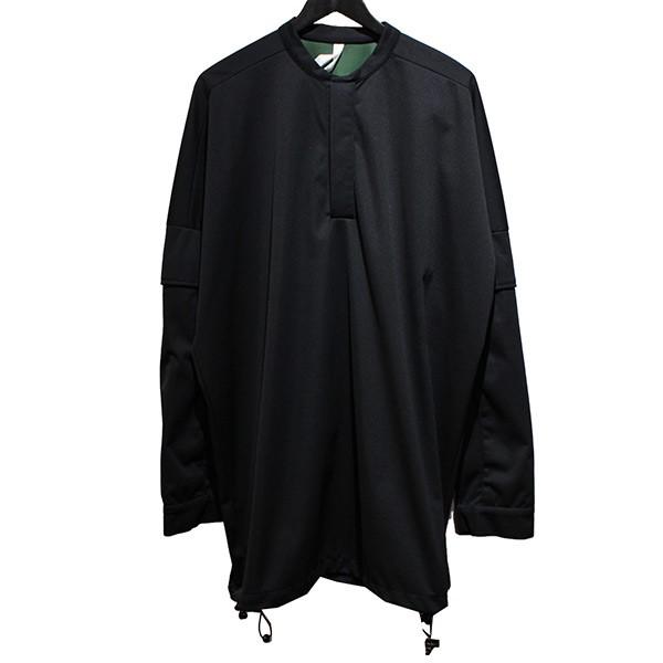 【中古】COTTWEILER ヘンリーネックアームポケットプルオーバー ブラック サイズ:M 【060520】(コットワイラー)