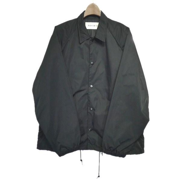 【中古】RAVENIK × PORTER 「Back pocket coach jacket」コーチジャケット ブラック サイズ:3 【070520】(レイヴニック×ポーター)
