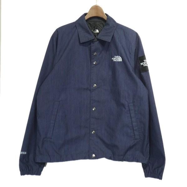 【中古】THE NORTH FACE 2020SS「GTX Denim Coach Jacket」デニムコーチジャケット インディゴ サイズ:M 【080520】(ザノースフェイス)