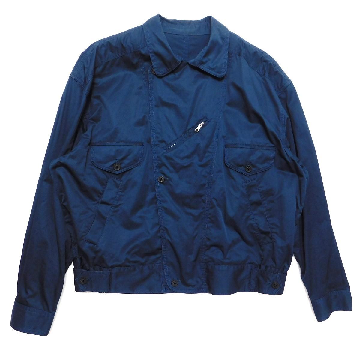【中古】URU Moter Cycle Jacket モーターサイクルジャケット ネイビー サイズ:2 【080520】(ウル)