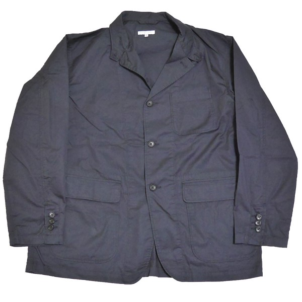 【中古】Engineered Garments 2020SS Loiter Jacket Hight Count Twill ジャケット ネイビー サイズ:M 【090520】(エンジニアードガーメンツ)