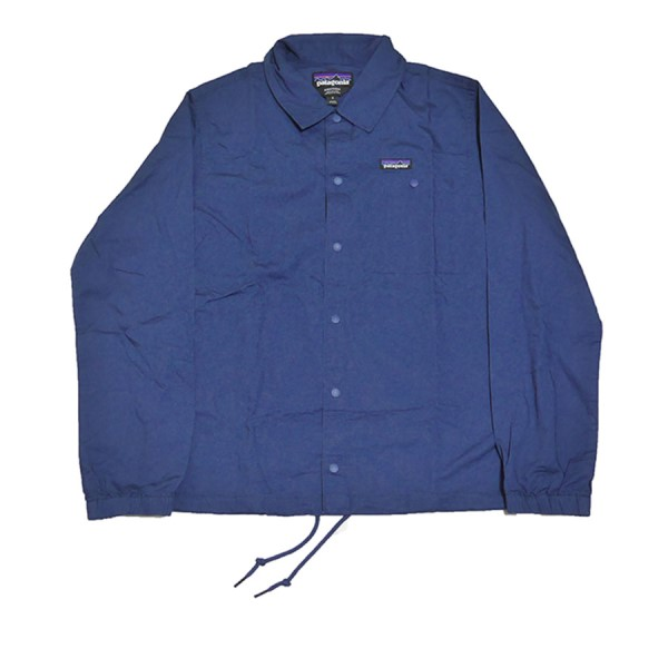 【中古】patagonia 2020SS Lightweight All-Wear hemp Coach Jacket ネイビー サイズ:S 【090520】(パタゴニア)