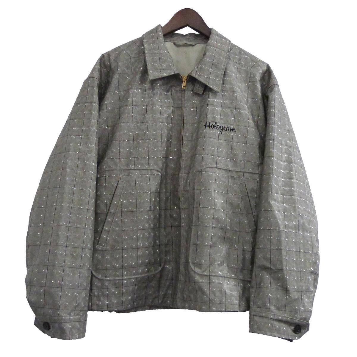 【中古】doublet 20SS ホログラムコーティングジャケット メタリックグレー サイズ:M 【100520】(ダブレット)