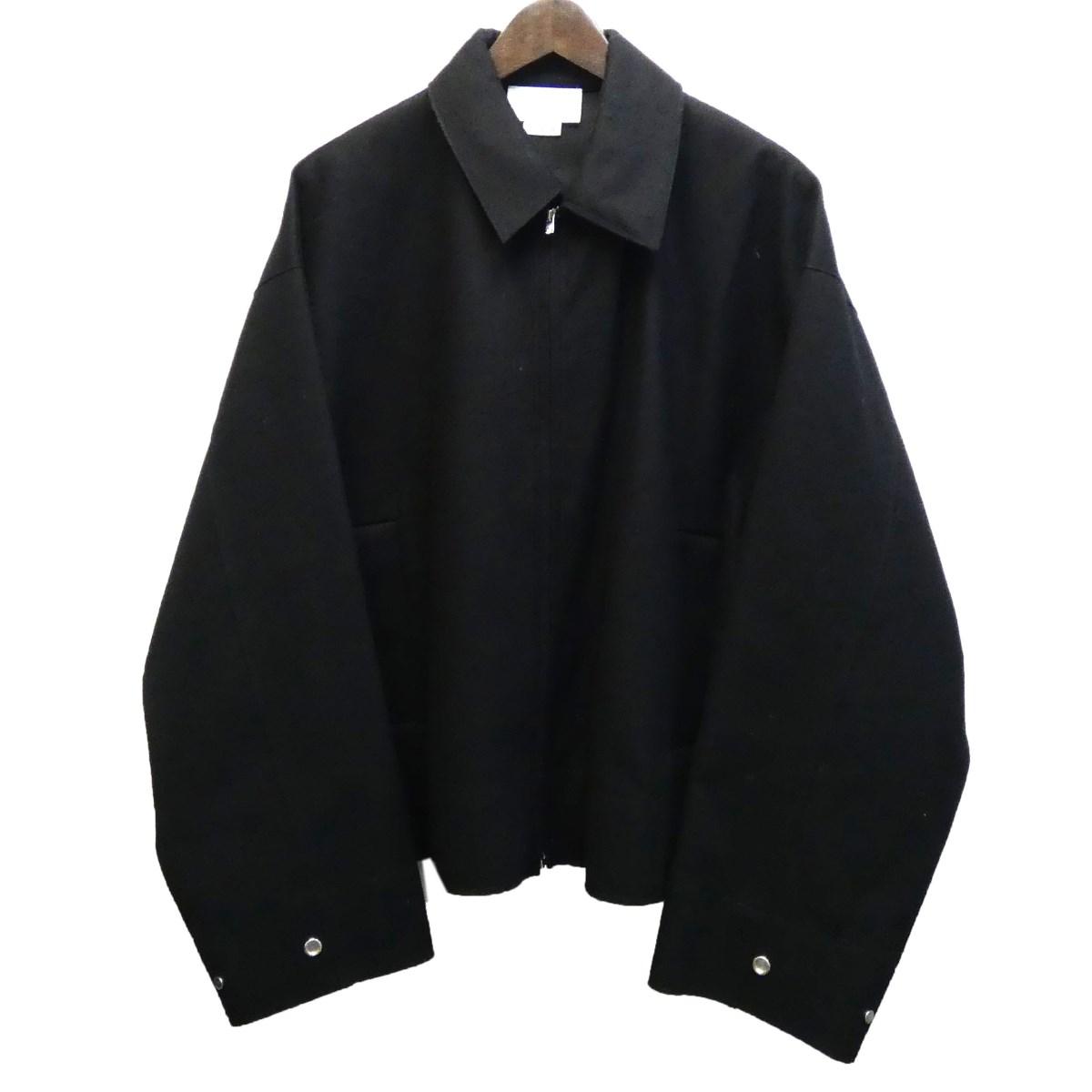 【中古】YOKE 18AW SO JOHN別注 カットオフジャケット ブラック サイズ:S 【100520】(ヨーク)