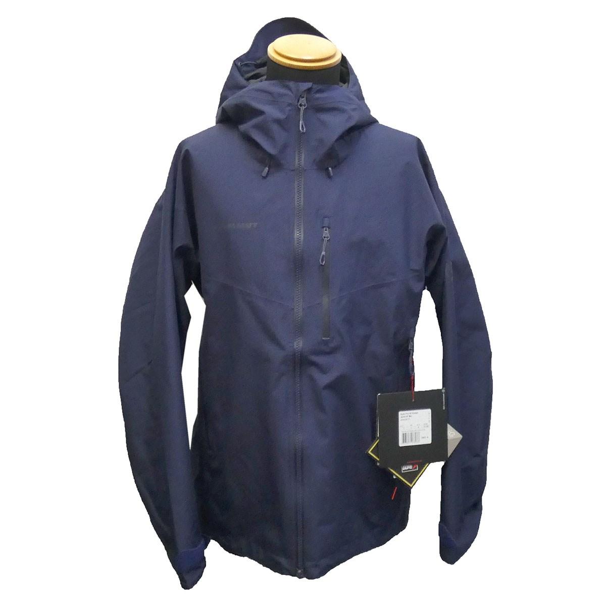 【中古】MAMMUT 20SS 「Ayako Pro HS Hooded Jacket」GORE-TEXマウンテンパーカー ネイビー サイズ:M 【100520】(マムート)