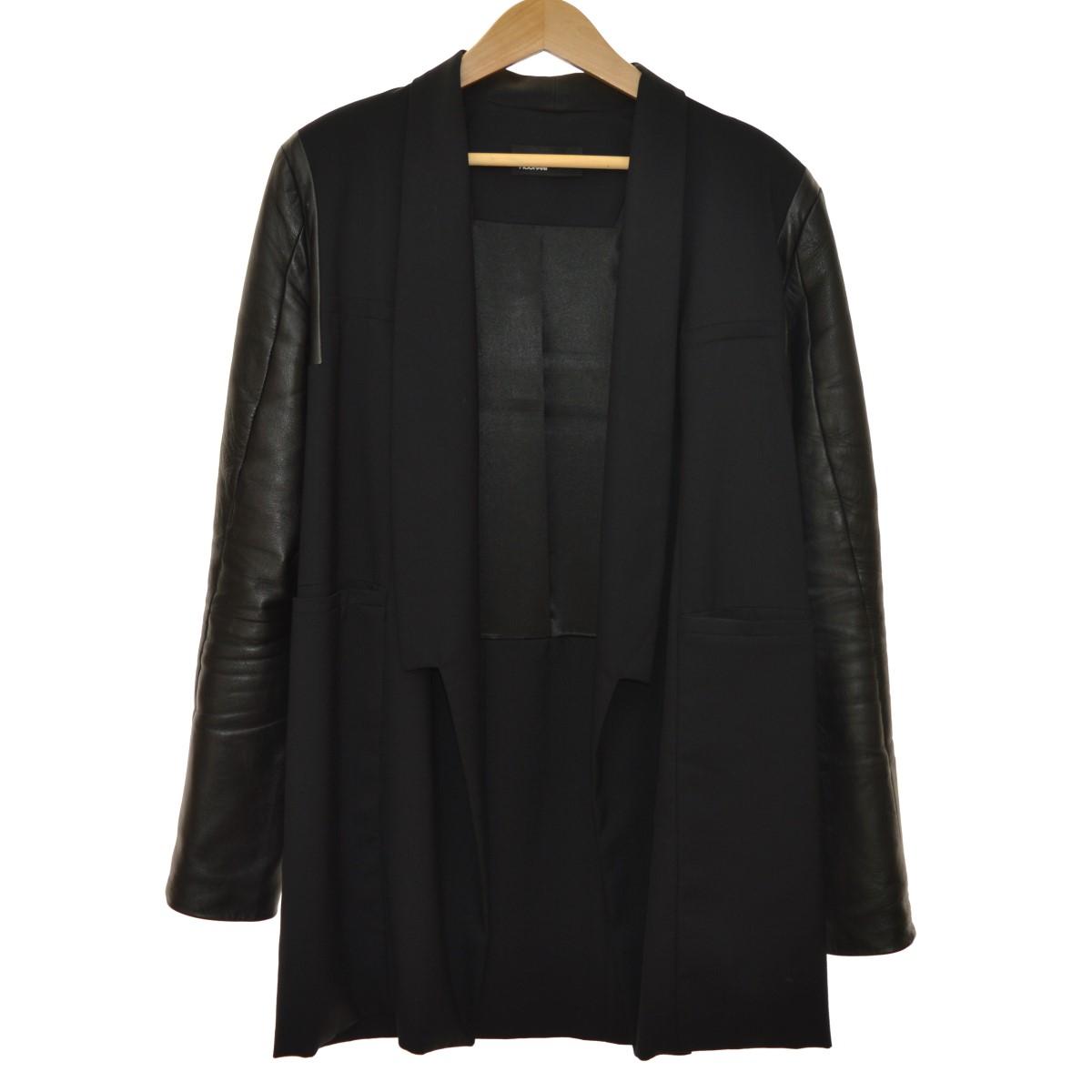 【中古】RAD HOURANI 袖レザージャケット ブラック サイズ:2 【120520】(ラッドハウラニ)