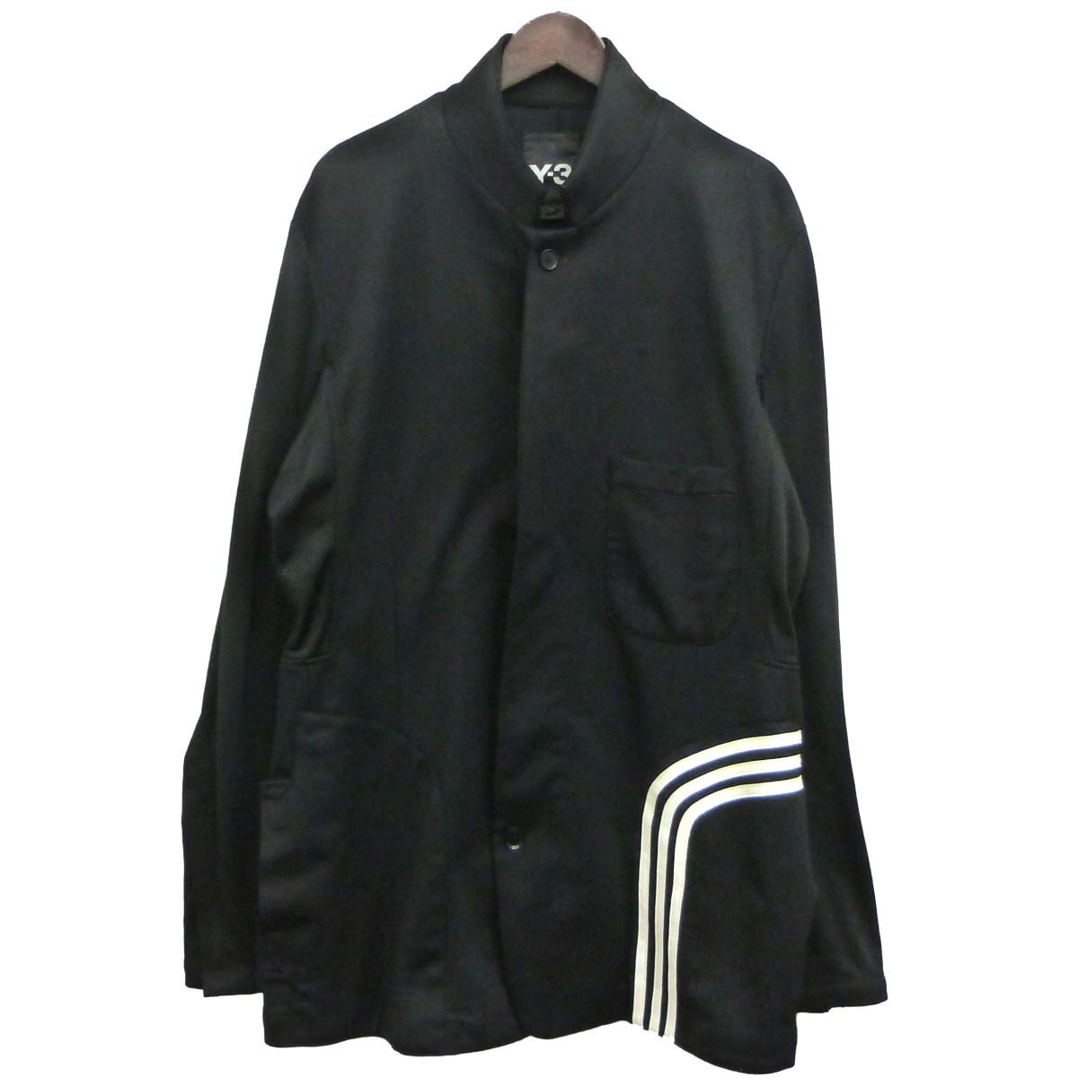 【中古】Y-3 「Fluid Blazer Jacket」ジャケット ブラック サイズ:M 【120520】(ワイスリー)