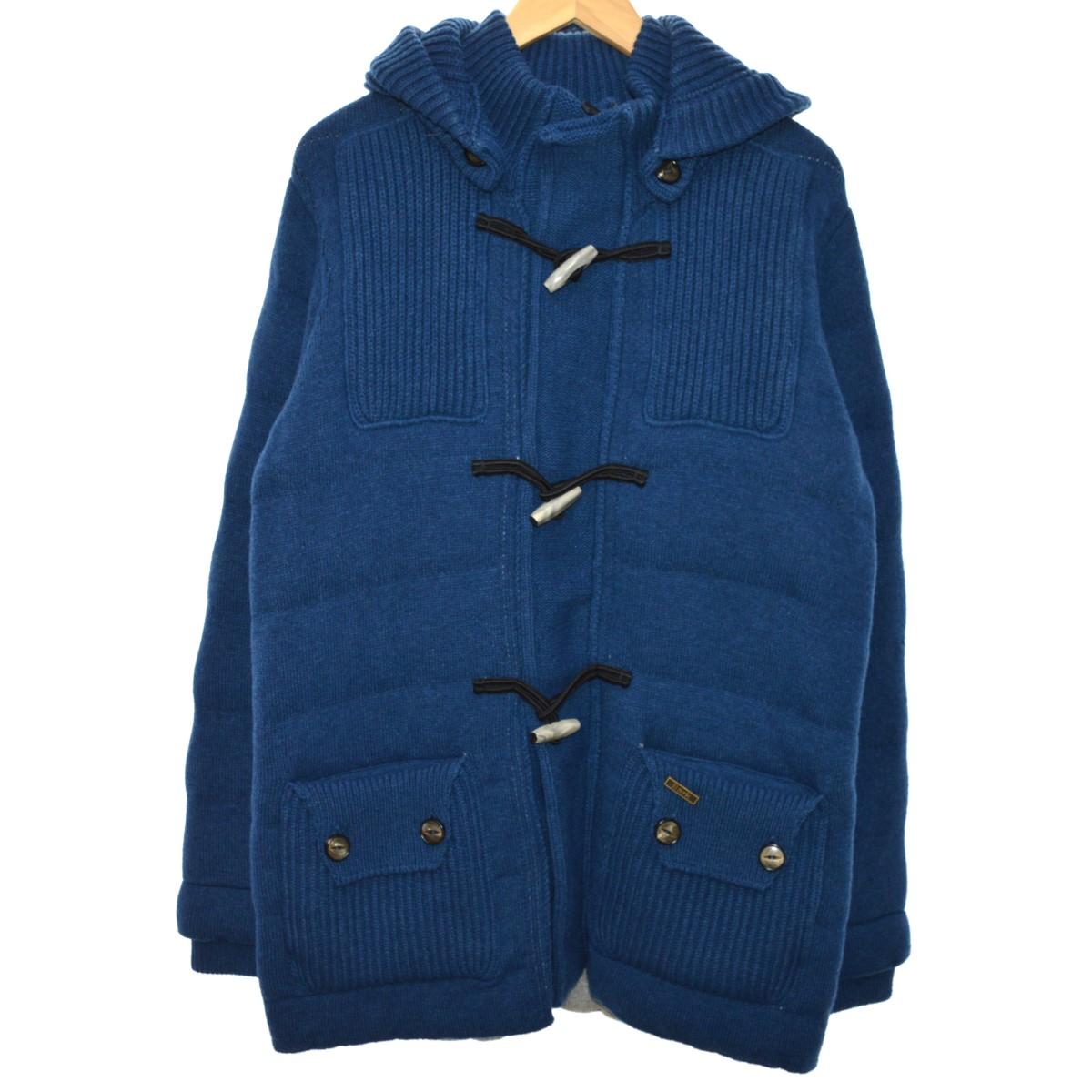 【中古】BARK 13AW Short Duffel Coat ショートダッフルコート ブルー サイズ:M 【130520】(バーク)
