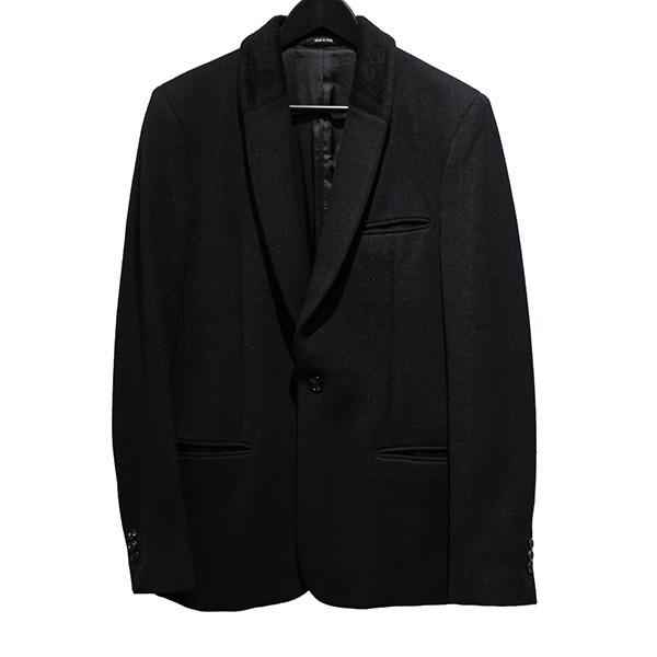 【中古】Martin Margiela14 ラペル切替 SLIM テーラードジャケット ブラック サイズ:44 【130520】(マルタン・マルジェラ14)