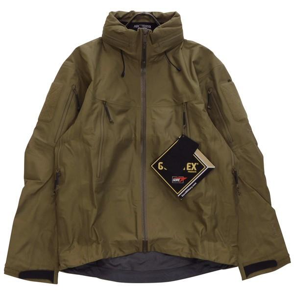 【中古】ARCTERYX LEAF Alpha Jacket GEN2 アルファジャケット マウンテンパーカー クロコダイル サイズ:XS 【140520】(アークテリクス)