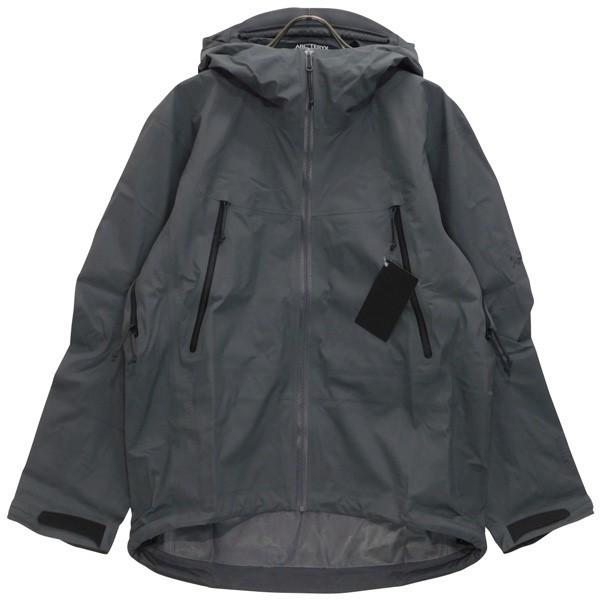 【中古】ARCTERYX LEAF Alpha Jacket LT GEN2 アルファLTジャケット ウルフ サイズ:S 【140520】(アークテリクス)