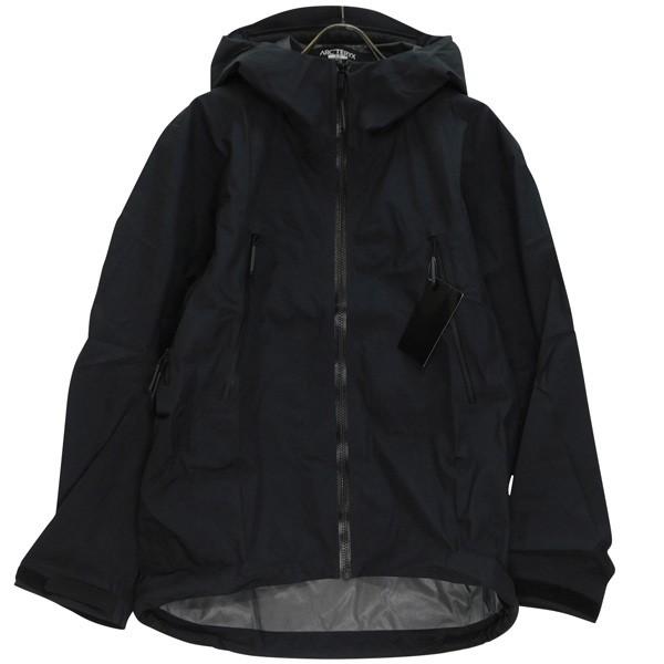 【中古】ARCTERYX LEAF Alpha Jacket LT GEN2 アルファLTジャケット 18864 ブラック サイズ:S 【140520】(アークテリクス)