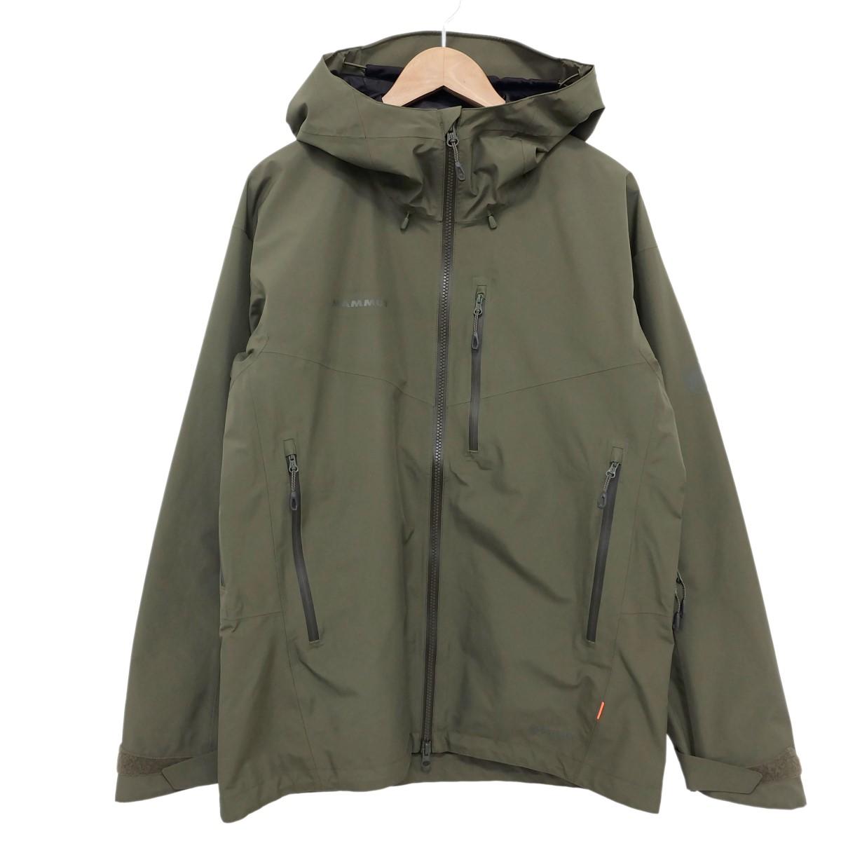 【中古】Marmot 19AW  ayako pro hs hooded jacket フーデットジャケット オリーブ サイズ:ASIA L 【150520】(マーモット)