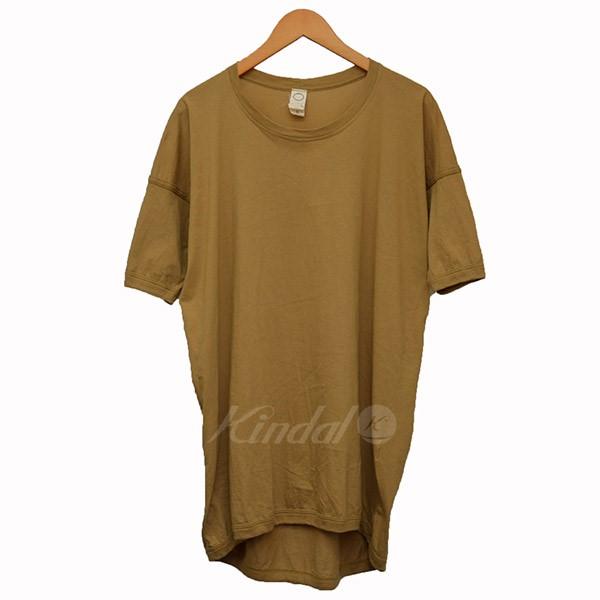 【中古】O Project ビックシルエット Tシャツ マスタード サイズ:S 【260520】(オープロジェクト)
