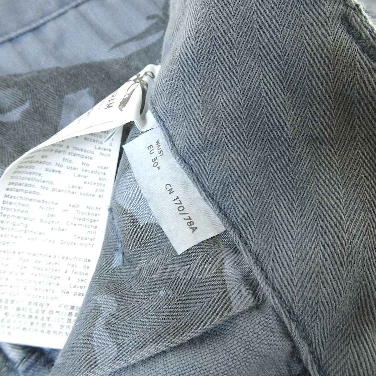 DENHAM NATO SHORT ショートパンツ ブルー サイズ EU 30280520デンハム80wnvmN