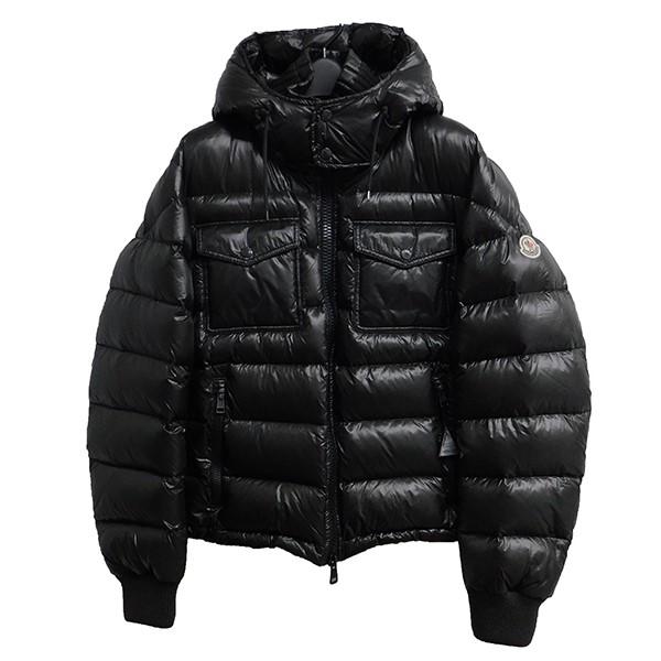 【中古】MONCLER FEDOR ダウンジャケット ブラック サイズ:2 【010620】(モンクレール)