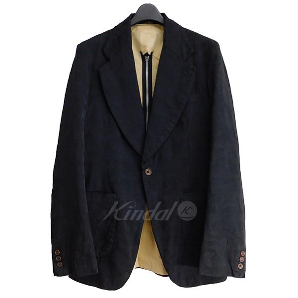 【中古】COMME des GARCONS HOMME PLUS バックセンタージップジャケット ブラック サイズ:S 【010620】(コムデギャルソンオムプリュス)