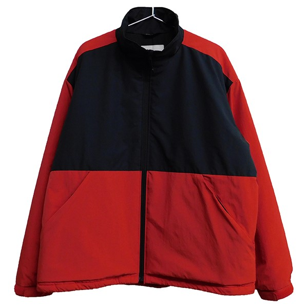 【中古】VAINL ARCHIVE 2019AW CP-JKT PRIMALOFTジャケット レッド×ブラック サイズ:L 【010620】(ヴァイナル アーカイブ)
