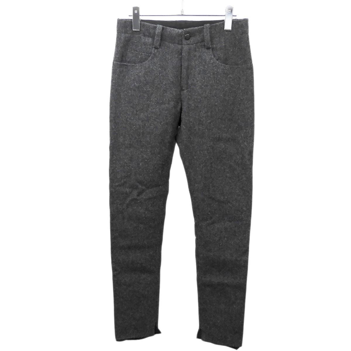 【中古】SUNSEA 2016AW 「British wool Pants」ブリティッシュウールパンツ グレー サイズ:1 【050620】(サンシー)