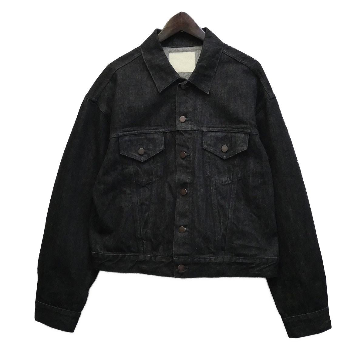 【中古】UNUSED 17AW デニムジャケット ブラック サイズ:2 【040620】(アンユーズド)