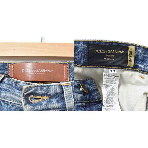 DOLCE GABBANA D6DDLZ デニムパンツ インディゴ サイズ 44060620ドルチェアンドガッバーナf6yIbgYv7