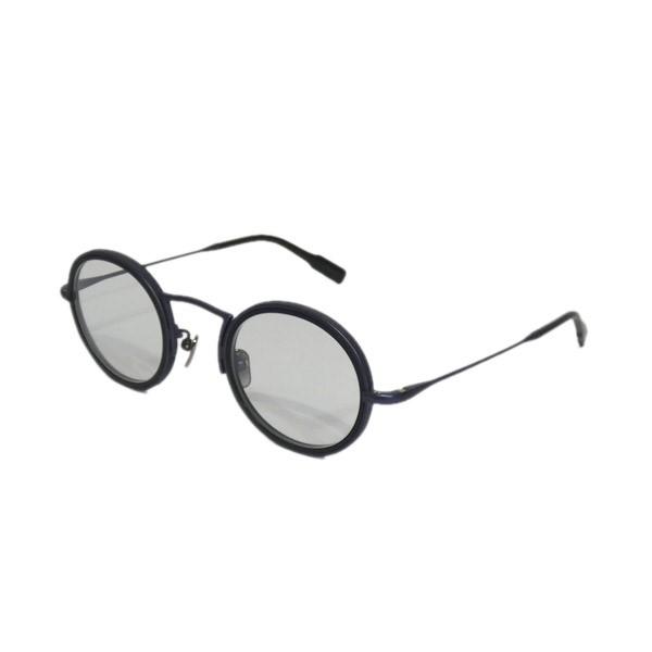 【中古】OG×OLIVER GOLDSMITH 「Porte 2」眼鏡 ブルー レンズ:クリア サイズ:42□26-140 【060620】(オージーバイ・オリバーゴールドスミス)