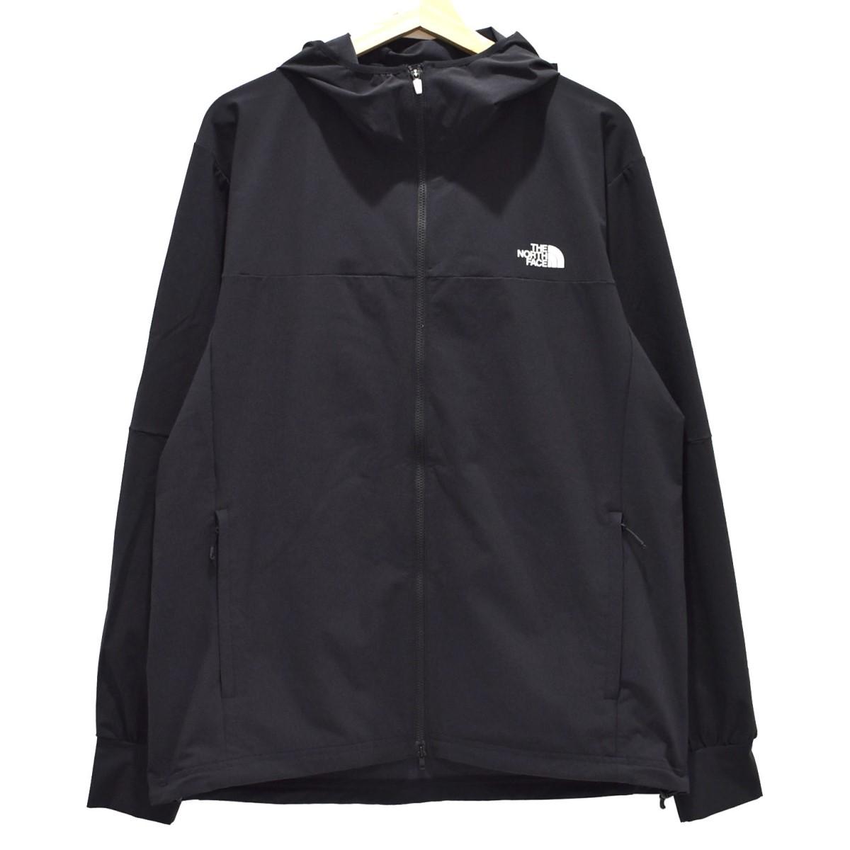 【中古】THE NORTH FACE APEX Flex Hoodie ジップアップパーカー ブラック サイズ:XL 【060620】(ザノースフェイス)