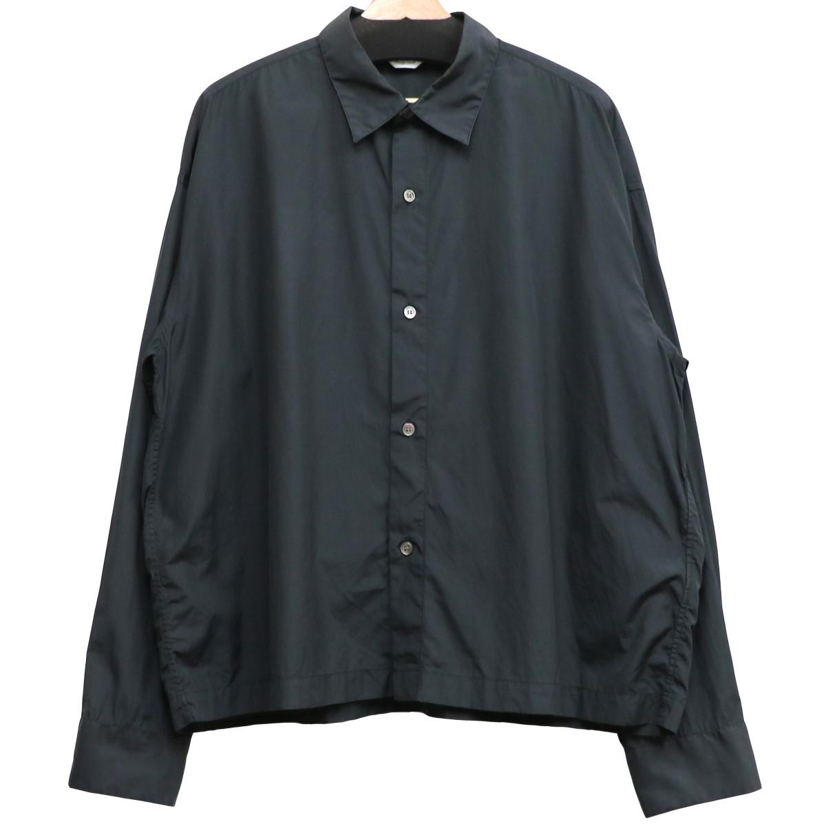【中古】UNUSED 19SS US1538 COTTON SHバックデザインボタンシャツ ブラック サイズ:4 【060620】(アンユーズド)