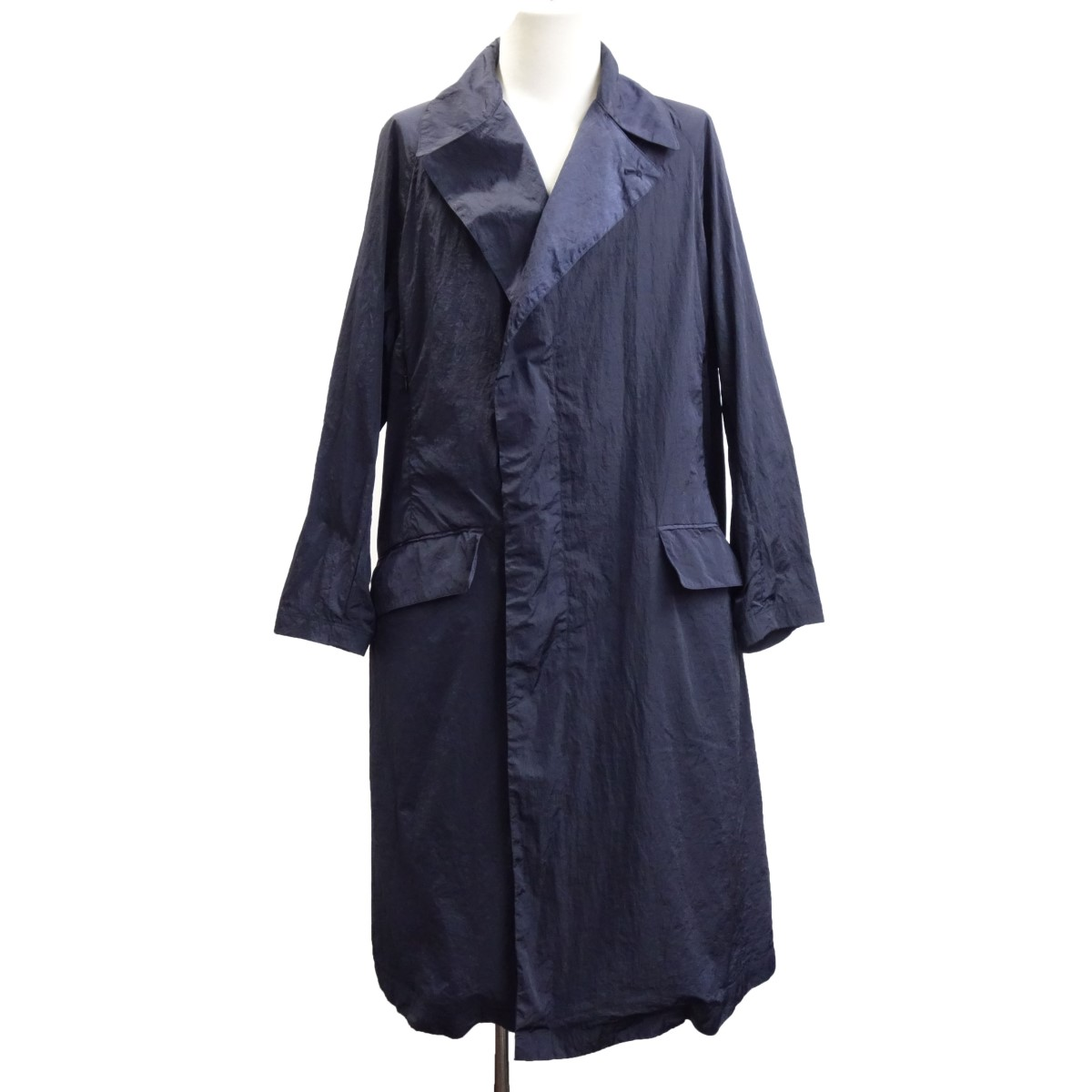 【中古】TEATORA 「Device Coat LIMONTA packable」 デバイスナイロンコート ネイビー サイズ:1 【080620】(テアトラ)
