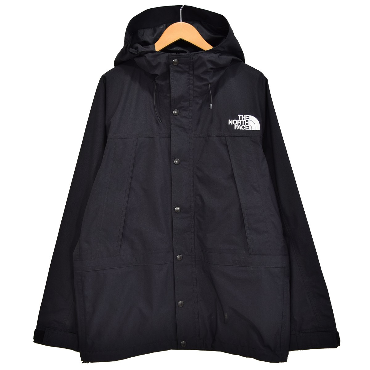 【中古】THE NORTH FACE Mountain Light Jacket ゴアテックスマウンテンパーカー NP11834 ブラック サイズ:L 【090620】(ザノースフェイス)