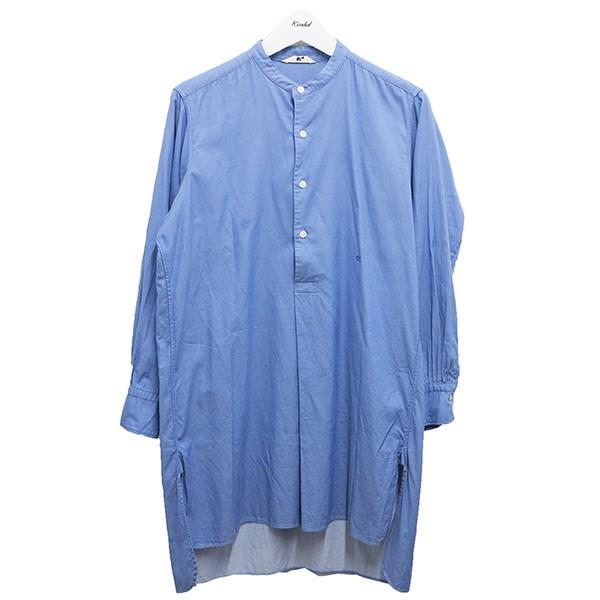 【中古】45rpm シャツワンピース ブルー サイズ:1 【100620】(45アールピーエム)